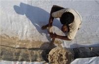 膨润土防水毯铺设